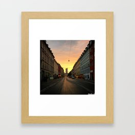 Another Great Day Framed Art Print
