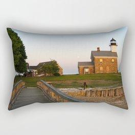 Norwalk,Sheffield Island, Lighthouse, Connecticut Rectangular Pillow