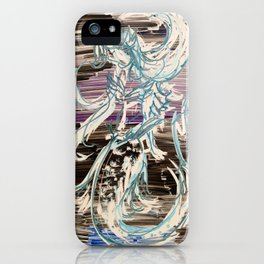 Darkwater Mermaid iPhone Case