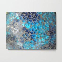 Mosaic Bubbles Metal Print