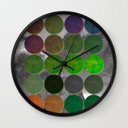Crop Circles 2 Wall Clock