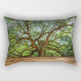 Angel Oak - Ancient Tree on Johns Island South Carolina Rectangular Pillow