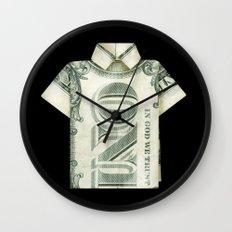 One dollar shirt Wall Clock