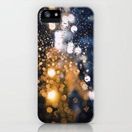 Luces nocturnas iPhone Case