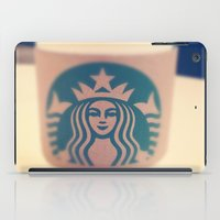 starbucks iPad Cases featuring Starbucks Coffee by Accorden2Worden