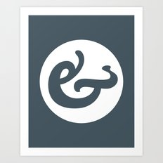 Ampersand Series - #1 Art Print