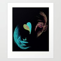 Two To Love Art Print