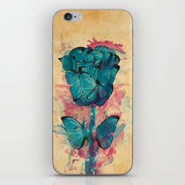 Butterfly Rose iPhone Skin