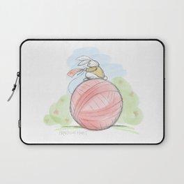 Bunny on a Ball Laptop Sleeve