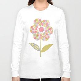 Dot Flower Long Sleeve T-shirt