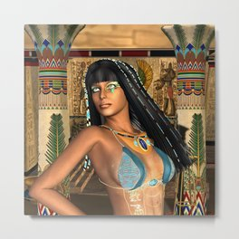 Wonderful egyptian women Metal Print