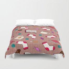 A Cozy Winter's Night Duvet Cover