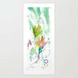 Signs of Spring Art Print