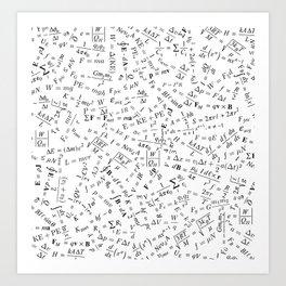 Equation Overload II Art Print