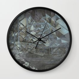 Listen in the Distance Wall Clock