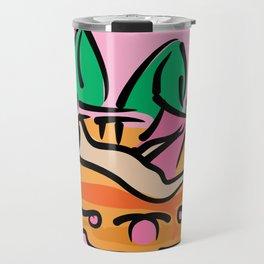 Woman leaning Travel Mug