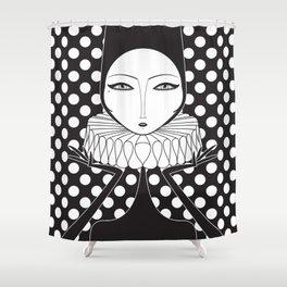 Serge Close Shower Curtain