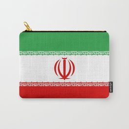 Flag of iran Carry-All Pouch