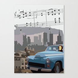 Chopin in Warsaw Canvas Print