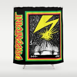 Banned in GP Shower Curtain