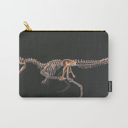 Allosaurus Fragilis Skeleton Study (No Labels) Carry-All Pouch