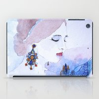 lady iPad Cases featuring Lady by S.Svetlankova