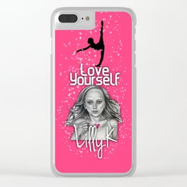 Love Yourself by Lilly K and Jenna Rose Simon Clear iPhone Case