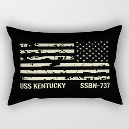 USS Kentucky Rectangular Pillow
