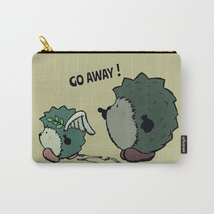 Go away! Carry-All Pouch