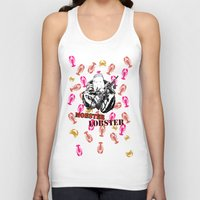 lobster Tank Tops featuring Mobster Lobster by Alan Hogan