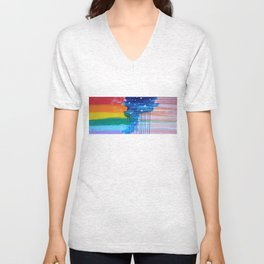 Flags for the Future 2 Unisex V-Neck