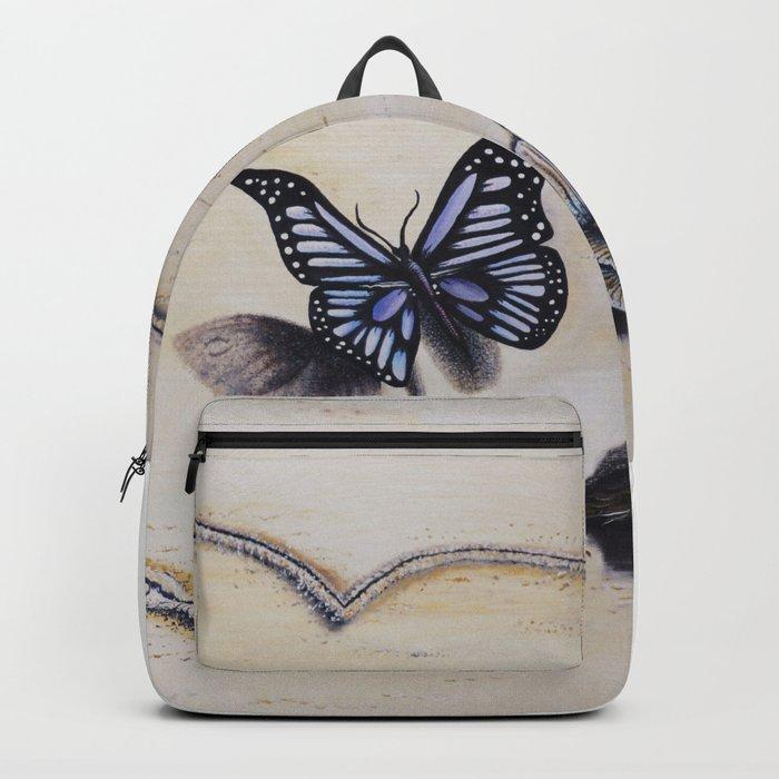 L'amour laisse ses traces Backpack