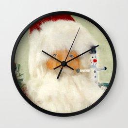 St Nick Wall Clock