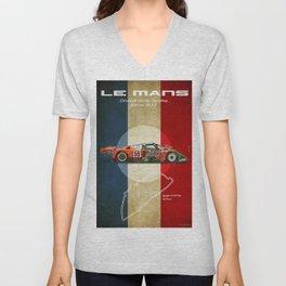 Le Mans 787B Vintage Unisex V-Neck