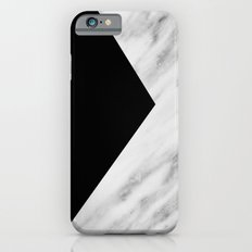 Black Marble Collage Slim Case iPhone 6