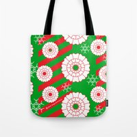 dentist Tote Bags featuring Pearly and White Dentist Holiday Mug by Hold The Cheese