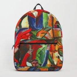 Heinrich Campendonk Bucolic Landscape Backpack