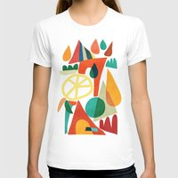 house T-shirts featuring Summer Fun House by Picomodi