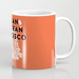 San Francisco Map 04 Coffee Mug