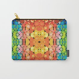 Healing Colors - Colorful Abstract Art By Sharon Cummings Carry-All Pouch
