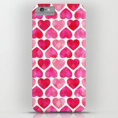 RUBY HEARTS iPhone 6s Plus Slim Case