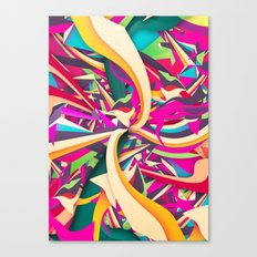 Explosion #2 Canvas Print