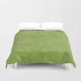 Peridot Oil Pastel Color Accent Duvet Cover