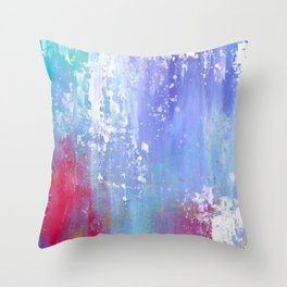 Soft Abstract Throw Pillow
