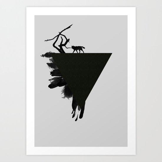 I'm Wolf Art Print