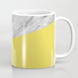 Marble with Meadowlark Yellow Color Coffee Mug