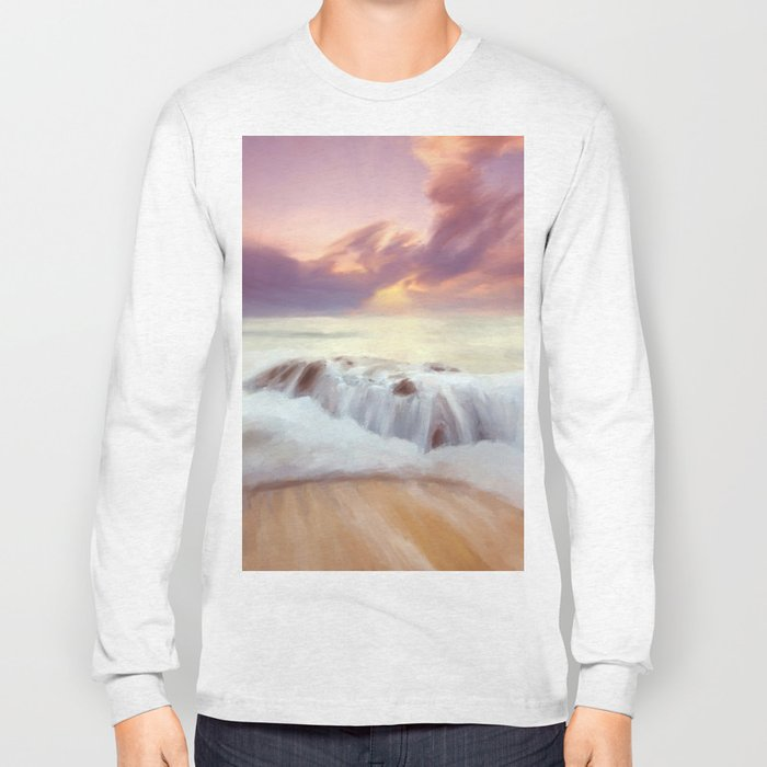 Sunset on the cliffs Long Sleeve T-shirt