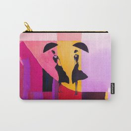 LADIES UNDER UMBRELLAS Carry-All Pouch