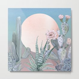 Desert Twilight by Nature Magick Metal Print