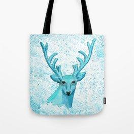 Blue Deer Tote Bag